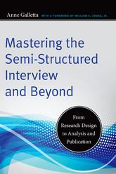 Mastering the Semi-Structured Interview and BeyondFrom Research Design to Analysis and Publication